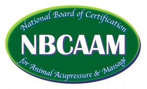 National Board of Certification for Animal Acupressure & Massage