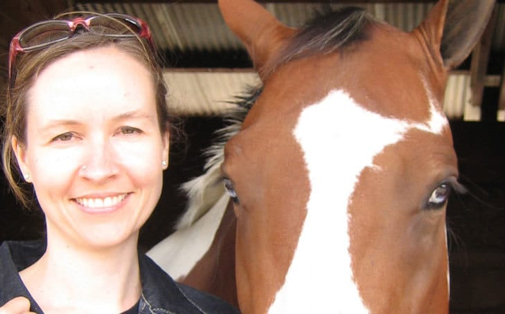 Offering Reiki To A Horse (And Cat)