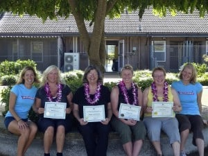 Northwest School of Animal Massage (NWSAM) graduates