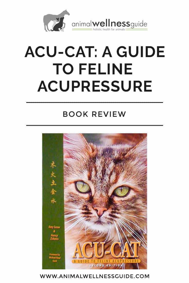 Learn how to maintain and improve your cat's health with the help of acupressure. The book has lots of acupressure point charts and step-by-step instructions for how to do acupressure for various health issues.