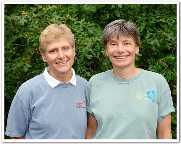 Meet Amy Snow and Nancy Zidonis, Tallgrass Animal Acupressure Resources