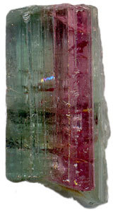 Tourmaline-isolated