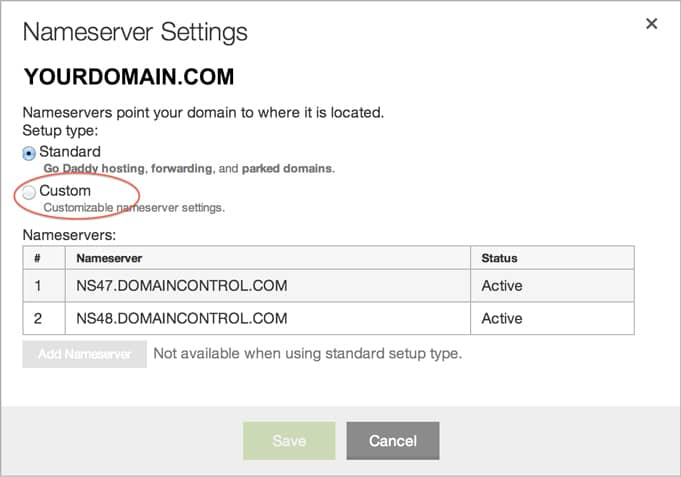 How to start a blog Part 5: Change nameservers
