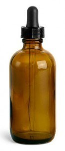 Bottle for homeopathic remedies