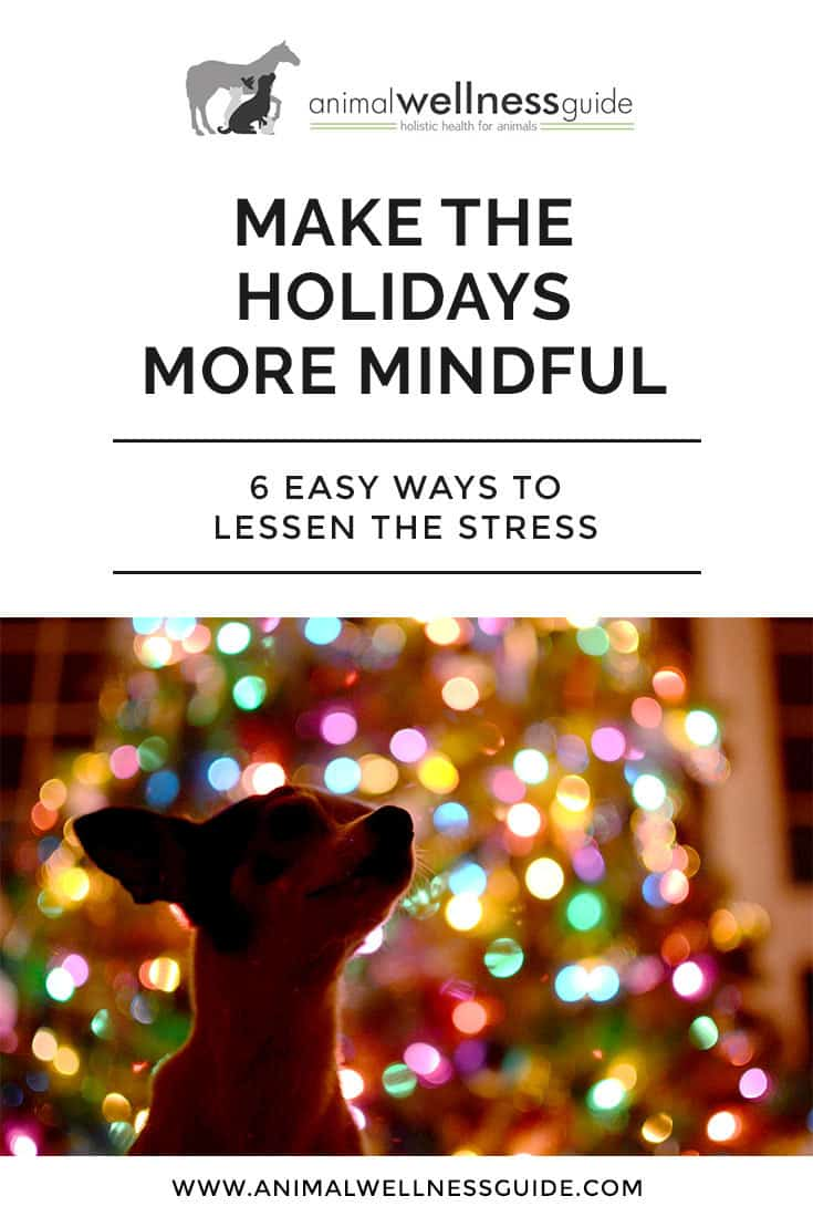 Six easy mindfulness exercises for managing holiday stress.
